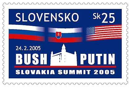 Selling Slovakia: the commemorative stamp.