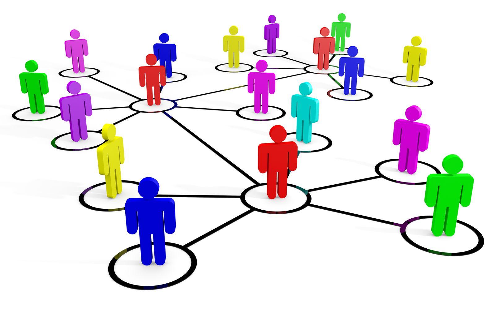 Networking / Netzwerken / Netzwerk