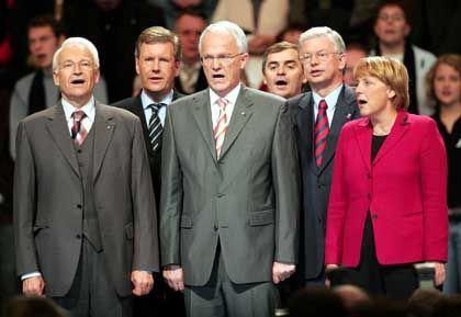 """Ministerpräsidenten der Union: Ungewöhnlicher Stimmenzuwachs durch """"Frustarbeiter"""""""