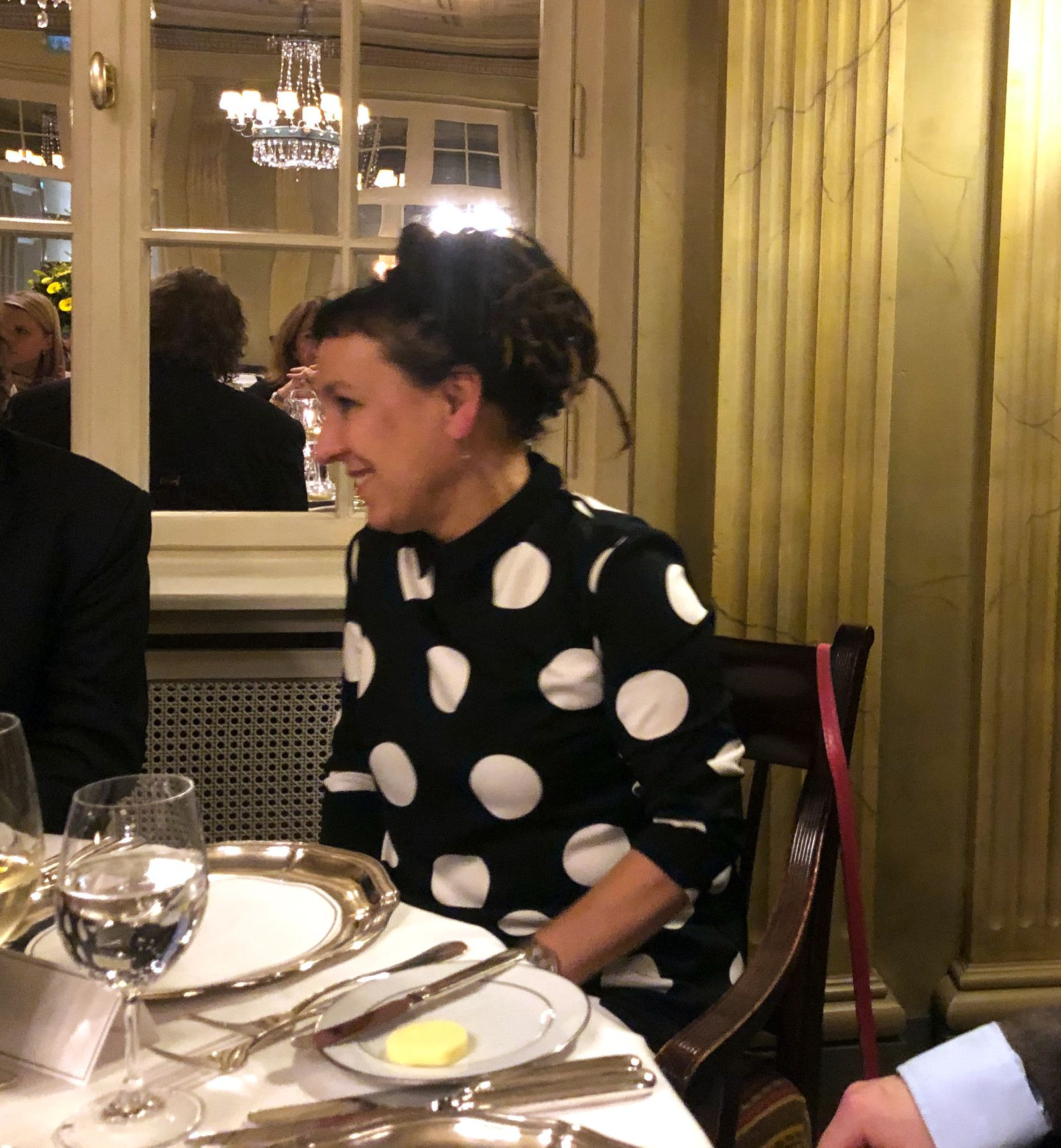 EINMALIGE VERWENDUNG/ Nobelpreis-Dinner/ Olga Tokarczuk