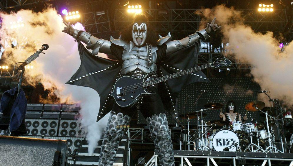 Kiss-Bassist Gene Simmons: Der Große mit der flinken Zunge