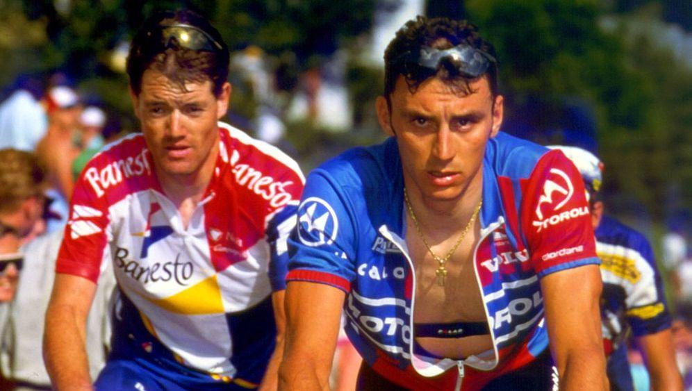 Fabio Casartelli - Tod bei der Tour de France