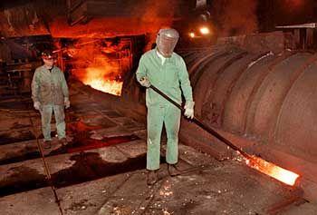 Stahlproduktion in Ohio/USA: Kostensenkungen um bis zu 50 Prozent