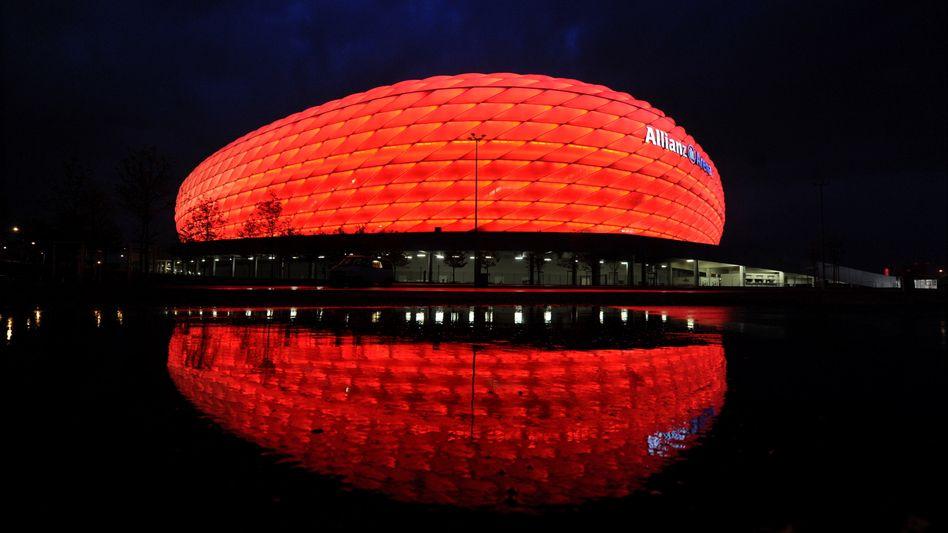 Arena in München: In sieben Jahren wohl Austragungsort von EM-Spielen