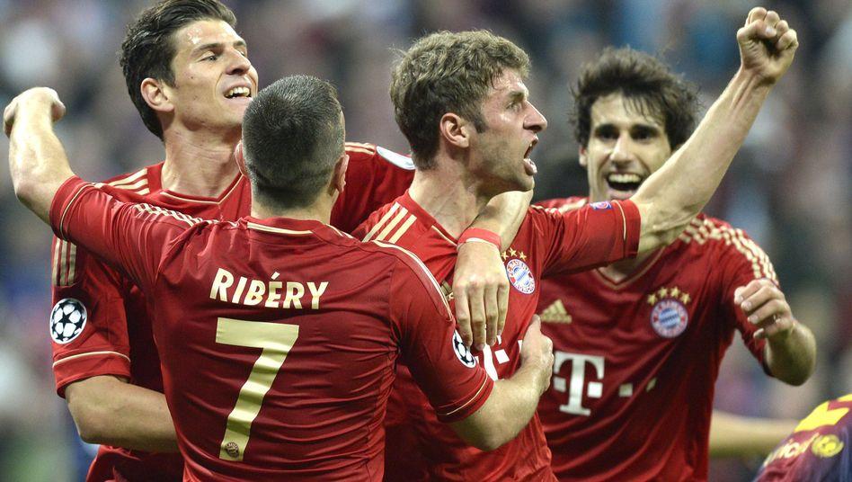 Bayern-Triumph über Barça: Traumsieggegen dasTrauma