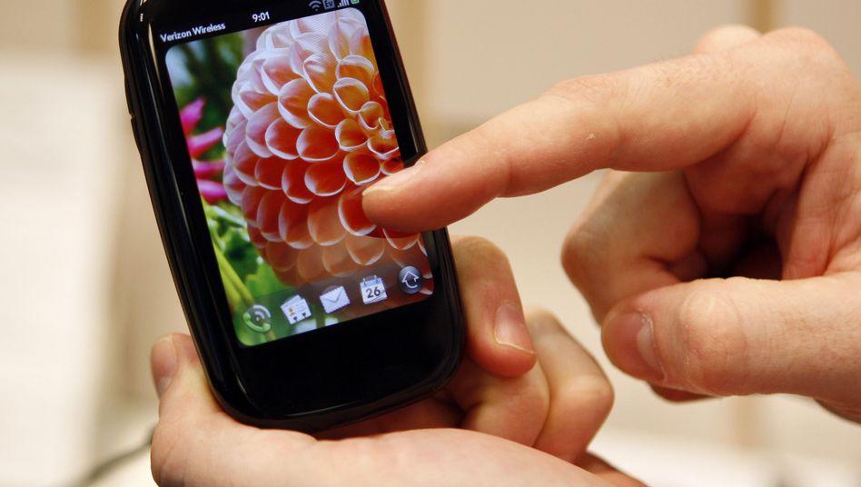 Palm-Handy: Zukünftig unter Regie von Hewlett-Packard