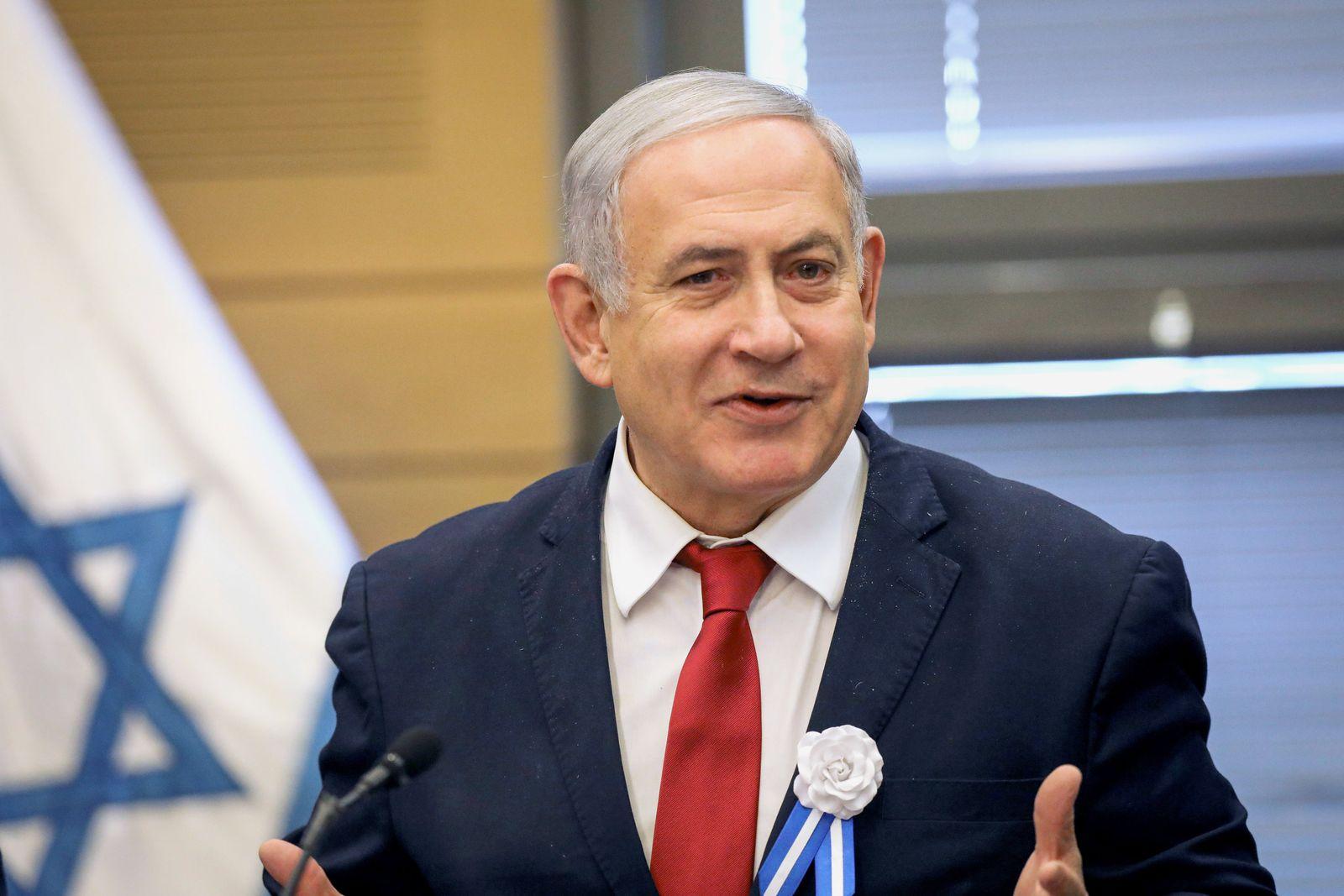 Fraktionssitzung der Likud-Partei