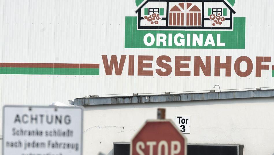 Wiesenhof-Schlachthof in Möckern, Sachsen-Anhalt: Probleme in der Produktion