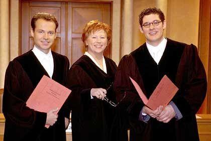 Ihre Urteile prägen das Ausländerbild: Richterin Barbara Salesch und Kollegen
