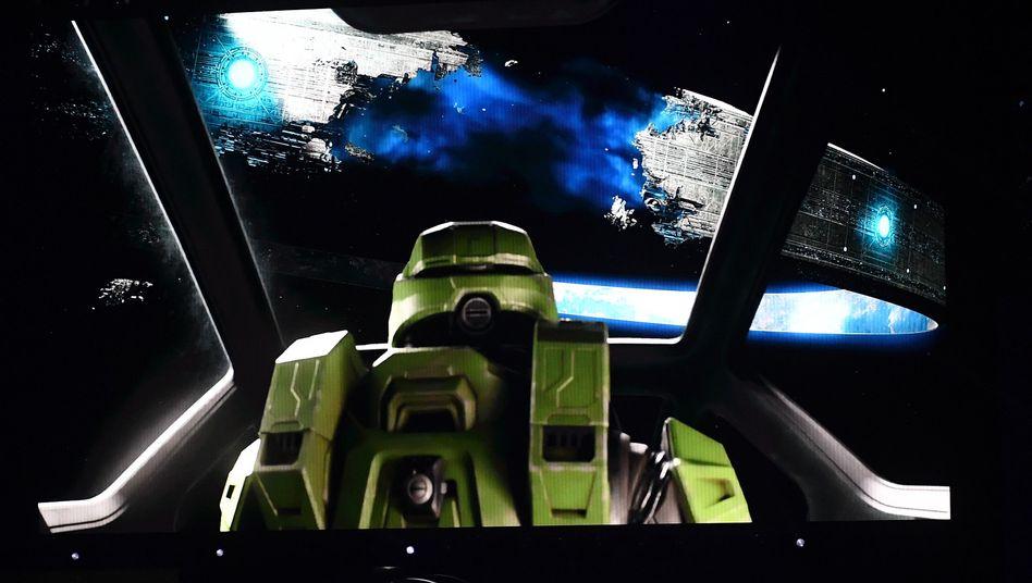 """Szene aus """"Halo Infinite"""": Das Spiel soll für die nächste Xbox-Konsole erscheinen, die unter dem Projektnamen Scarlett entwickelt wird"""