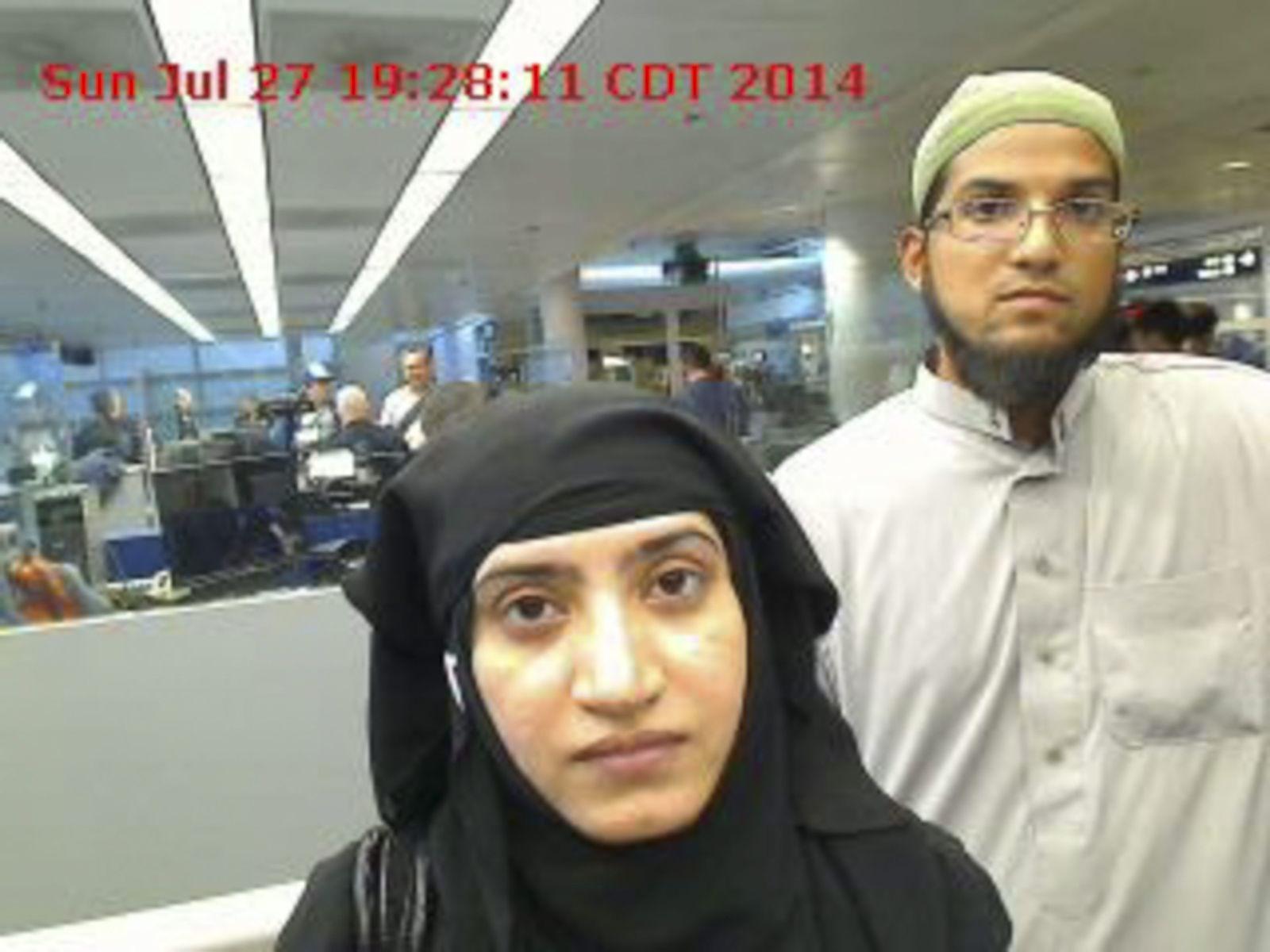 San Bernadino Attentäter FBI Handy Apple Syed Rizwan Farook Tashfeen Malik