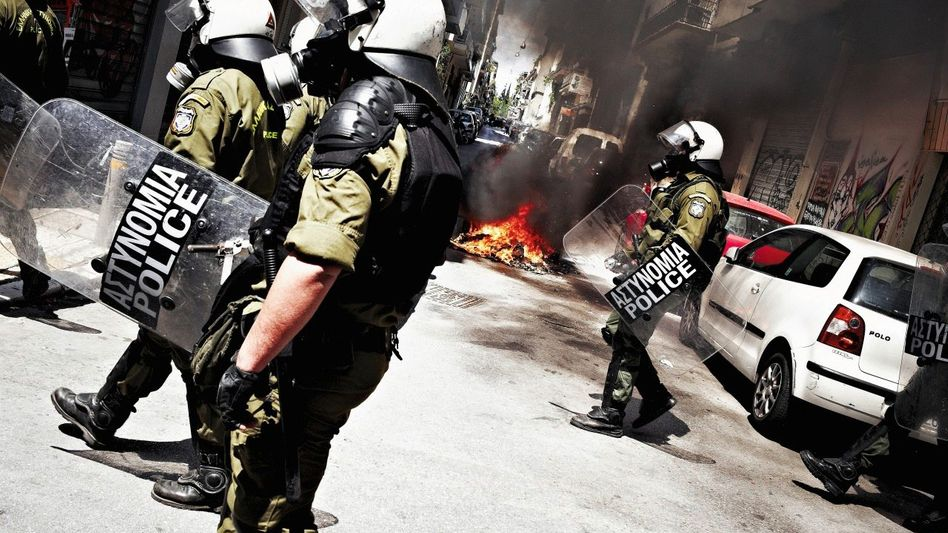 Polizeieinsatz gegen griechische Demonstranten in Athen: »Wir laufen Gefahr, dass das europäische Projekt scheitert«