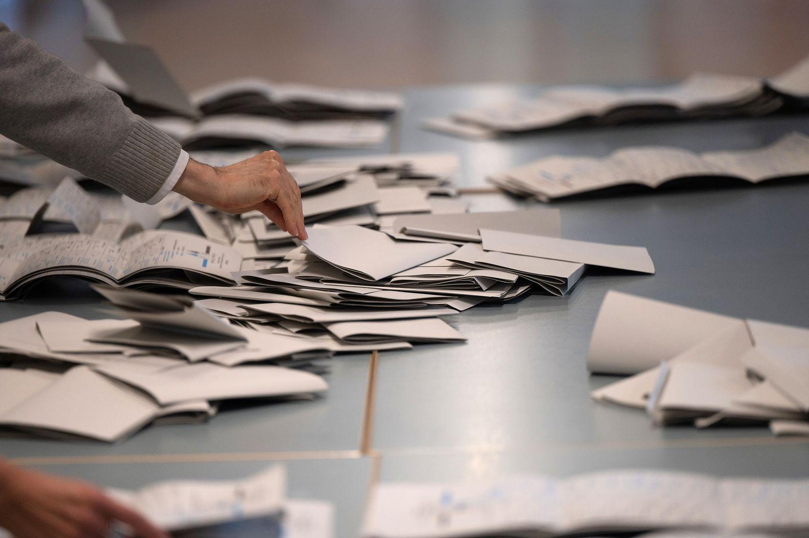 Bundestagswahl · Wahllokal Berlin