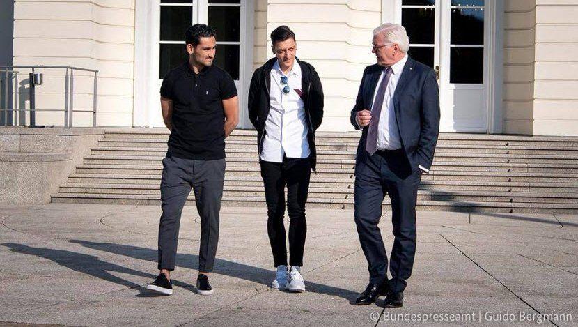 Gündogan, Özil, Steimeier