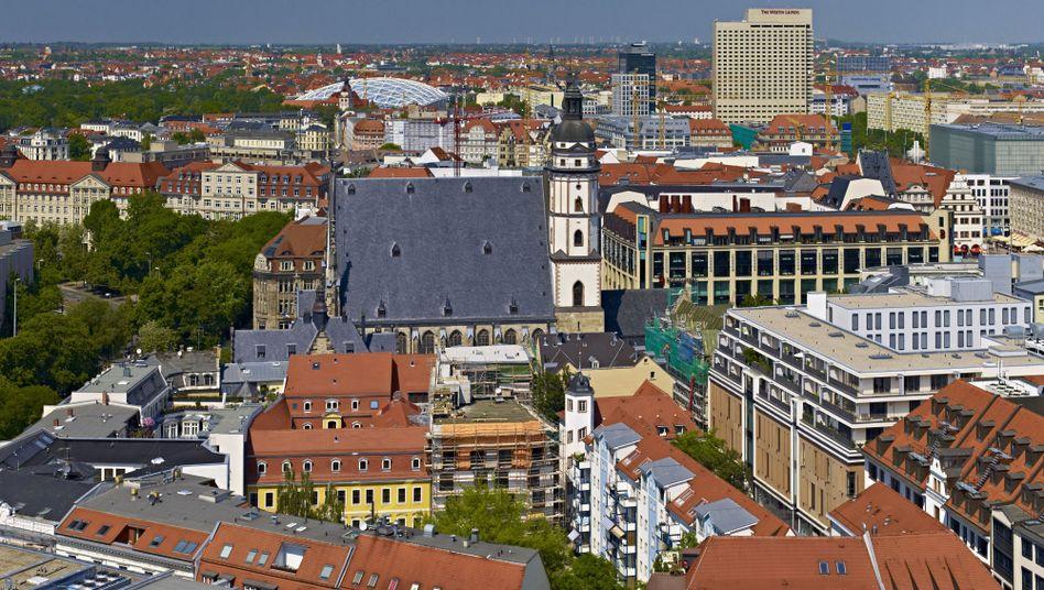 Blick auf Leipzig: Streit über Katholikentag