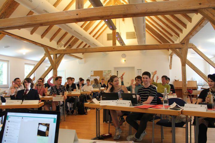 Bundesschülerkonferenz: abstimmen, diskutieren