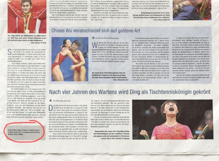 """Anzeige in der """"Süddeutsche Zeitung"""" vom 22. August"""