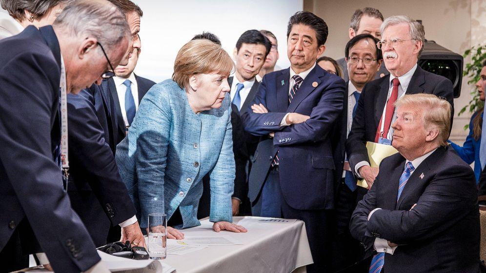 G7 in Kanada: Das Gipfel-Desaster in Bildern