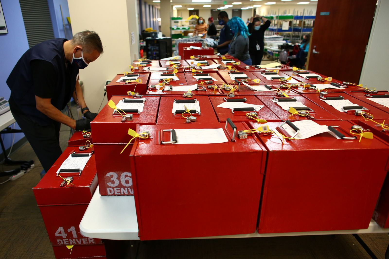 Ballot counting underway in Denver