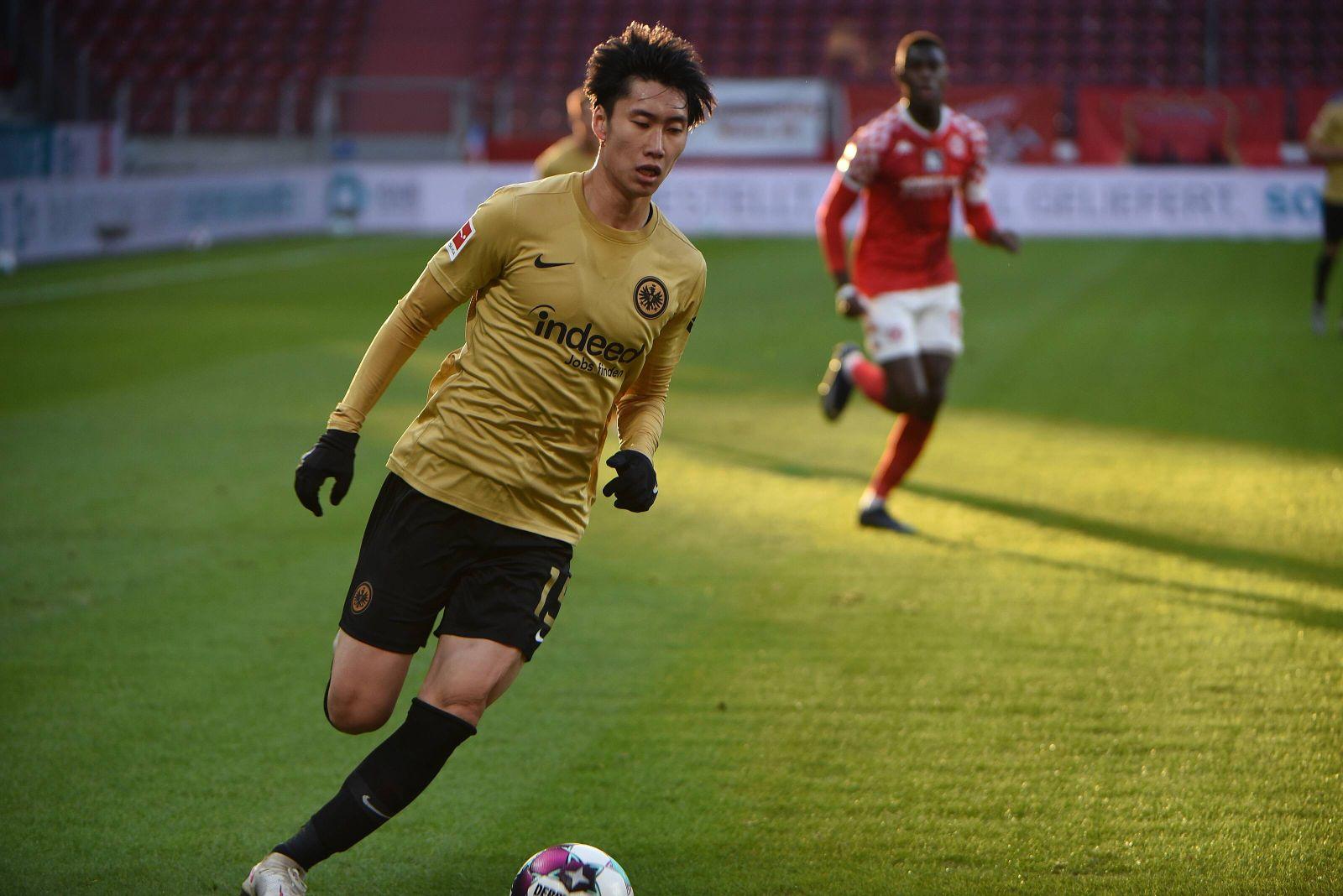 09.01.2021 Mainz, OPEL ARENA Fussball, 1. Bundesliga, Saison 2020/2021 FSV Mainz 05 gegen Eintracht Frankfurt (SGE) Kam