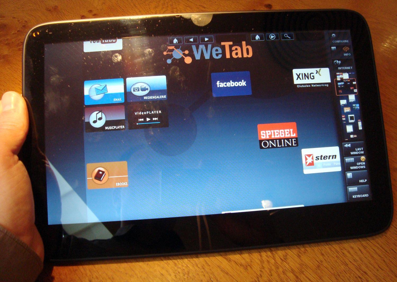 WeTab / Netzwelt