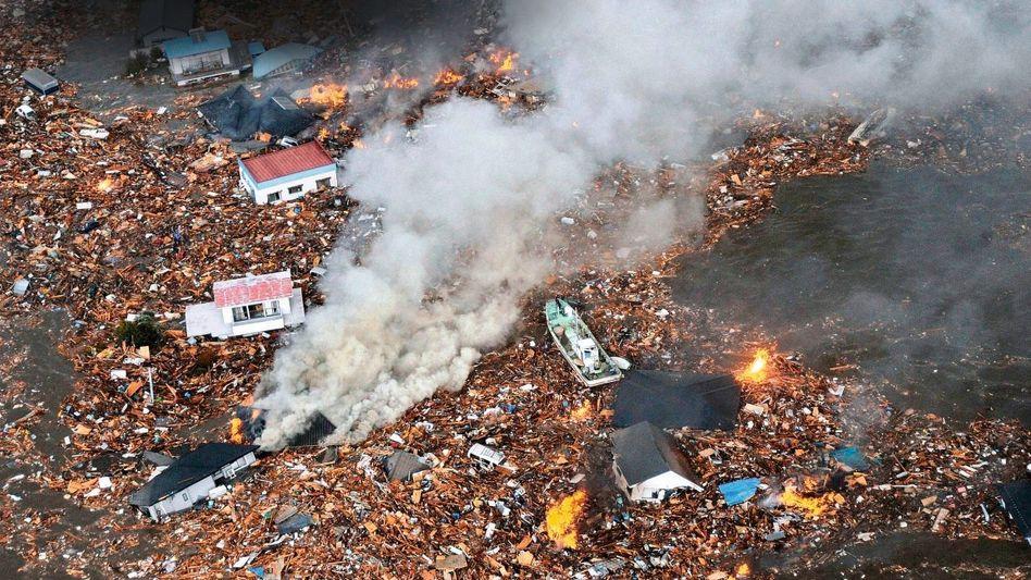 Tsunami bei Sendai: Es war, als versinke Japan im Meer