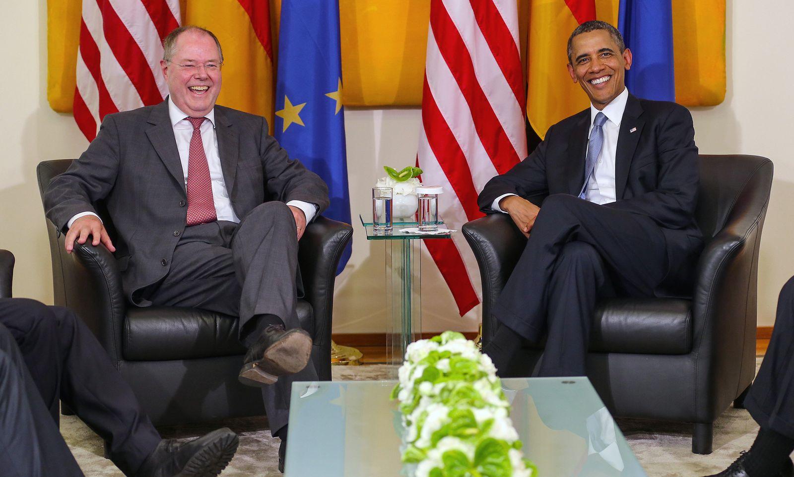 Obama / Steinbrück