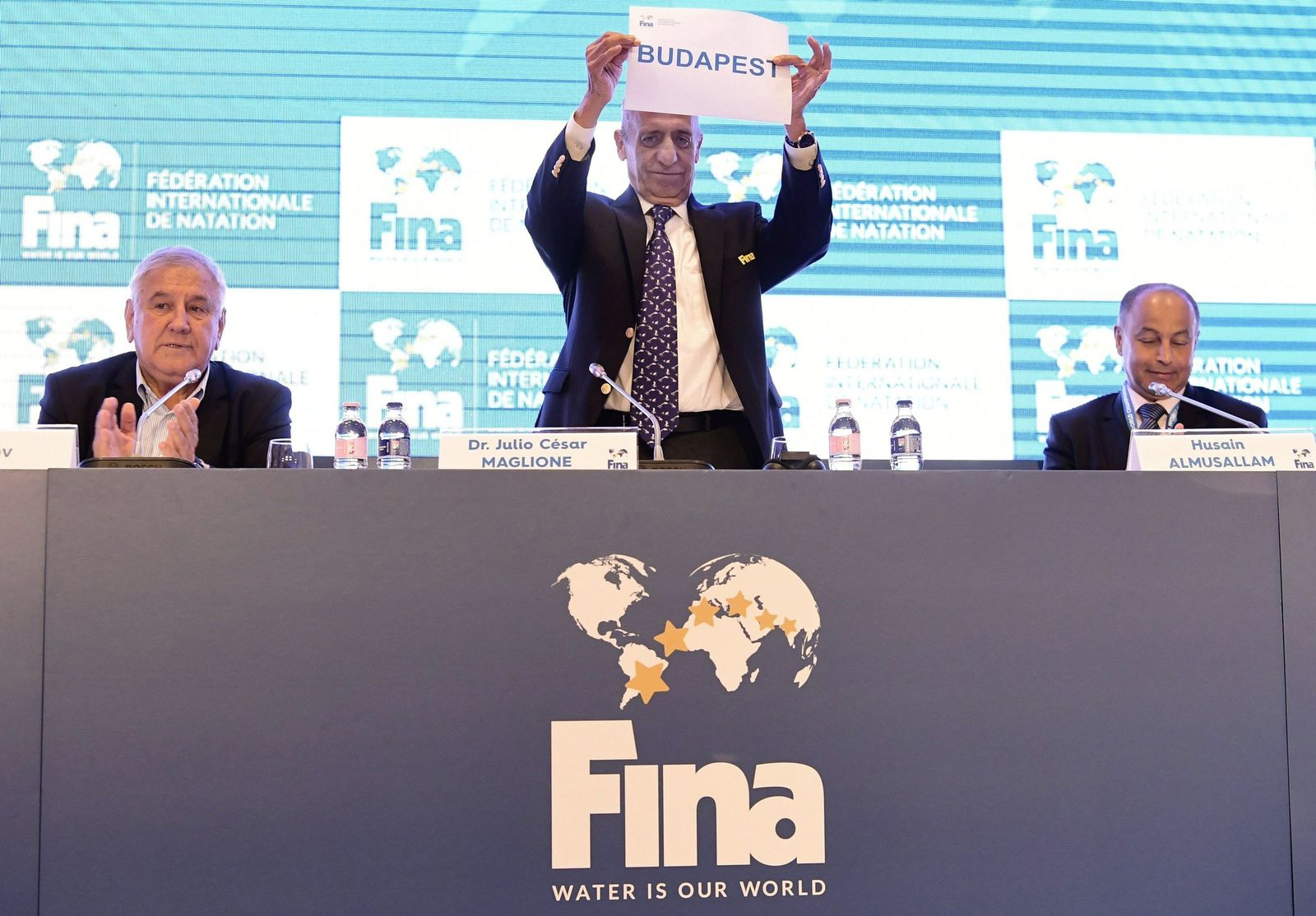 Hungary Swimming FINA Convention