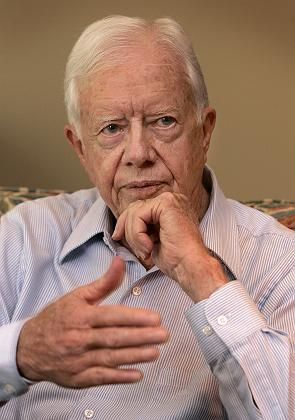 "Former US president Jimmy Carter: ""I don't think that Israel has any legal or moral justification for their massive bombing of the entire nation of Lebanon."""