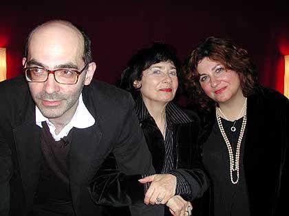 Autoren Maxim, Rada, Elena Biller (in Berlin): Familientreffen im Jüdischen Museum