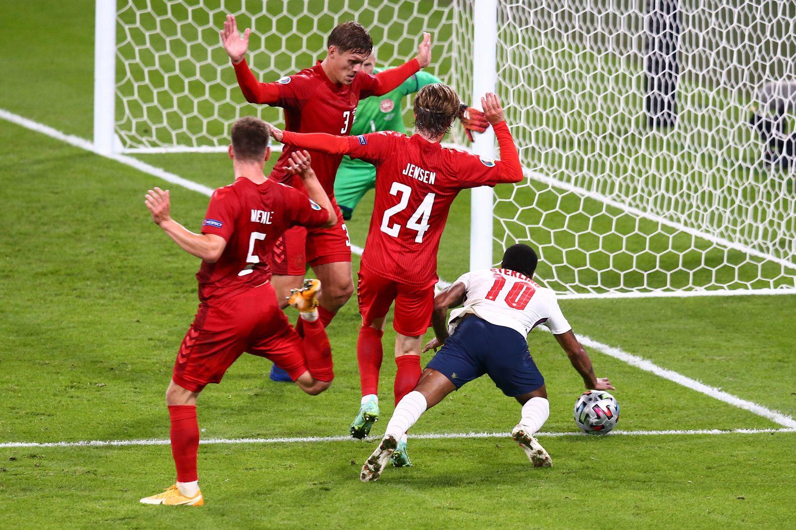 SOCCER - UEFA EURO, EM, Europameisterschaft,Fussball 2020, ENG vs DEN LONDON,ENGLAND,07.JUL.21 - SOCCER - UEFA European