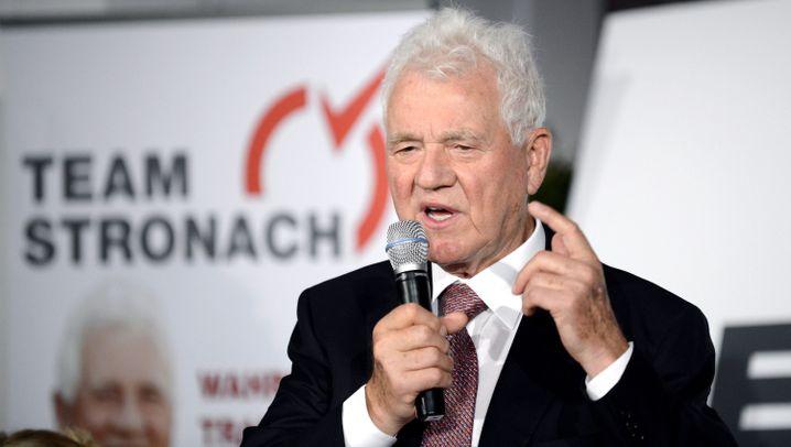 Frank Stronach: Mit 80 in die Politik