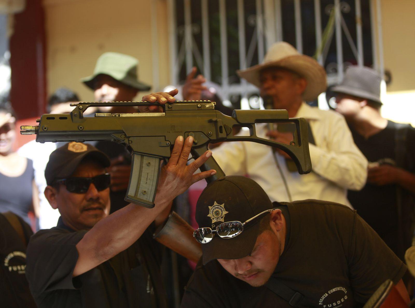 Mexiko / Heckler & Koch Sturmgewehr
