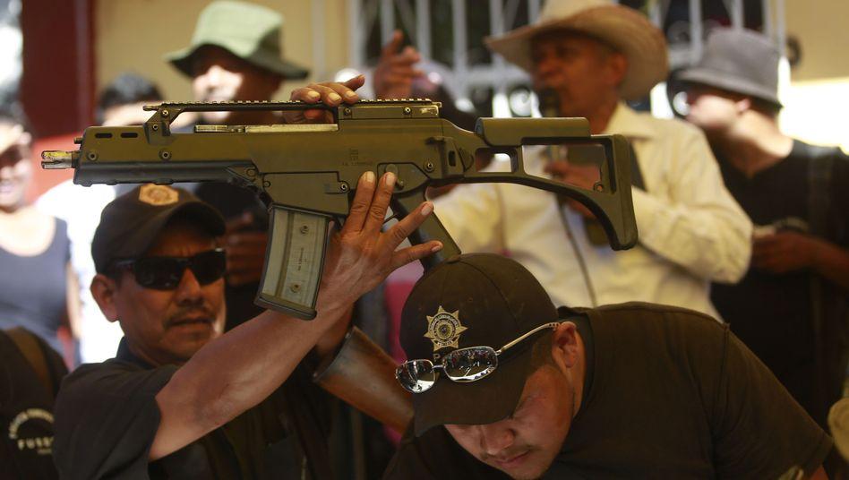 Sturmgewehr G36 von Heckler & Koch: Geschäfte mit Mexiko