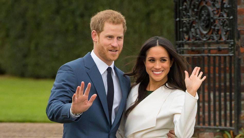 """Prinz Harry und Herzogin Meghan: Ab April keine """"Senior Royals"""" mehr"""
