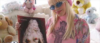 Staller in ihrer Römer Wohnung: Madonna und Porno-Mythos