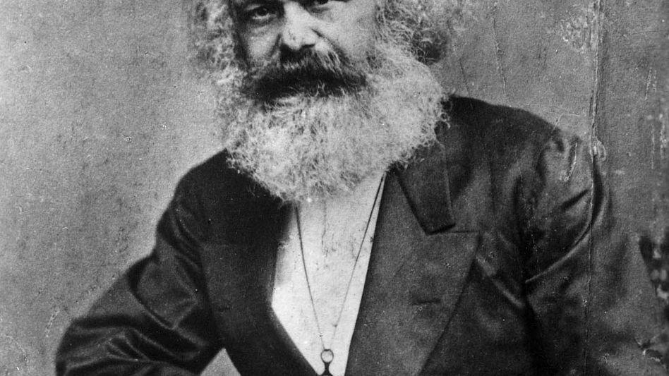 Karl Marx Porträt aus dem Jahr 1875