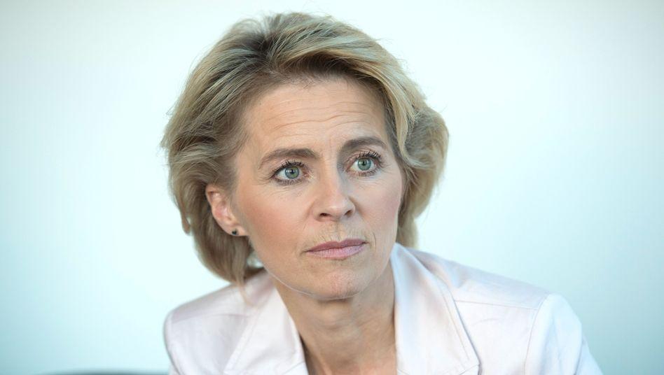 Arbeitsministerin von der Leyen: Gegenmodell zur Rente aus den eigenen Reihen
