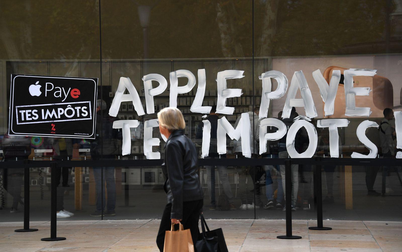 Apple / ATTAC / Frankreich