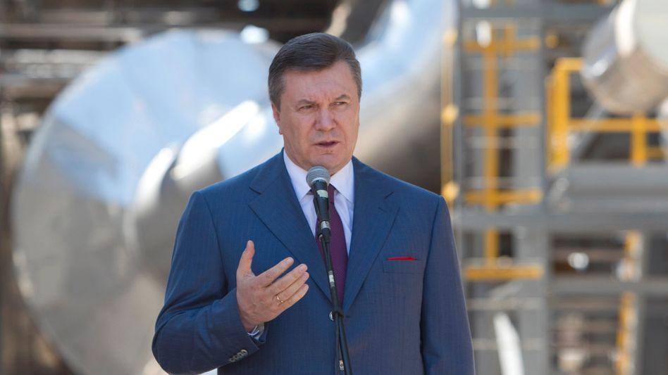 Ukraine's President Viktor Yanukovych: profiting from power?
