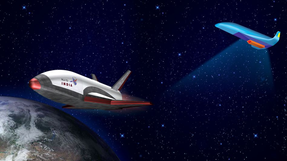 Indischer Weltraumtransporter