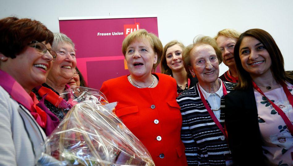 Angela Merkel beim 70. Geburtstag der Frauenunion