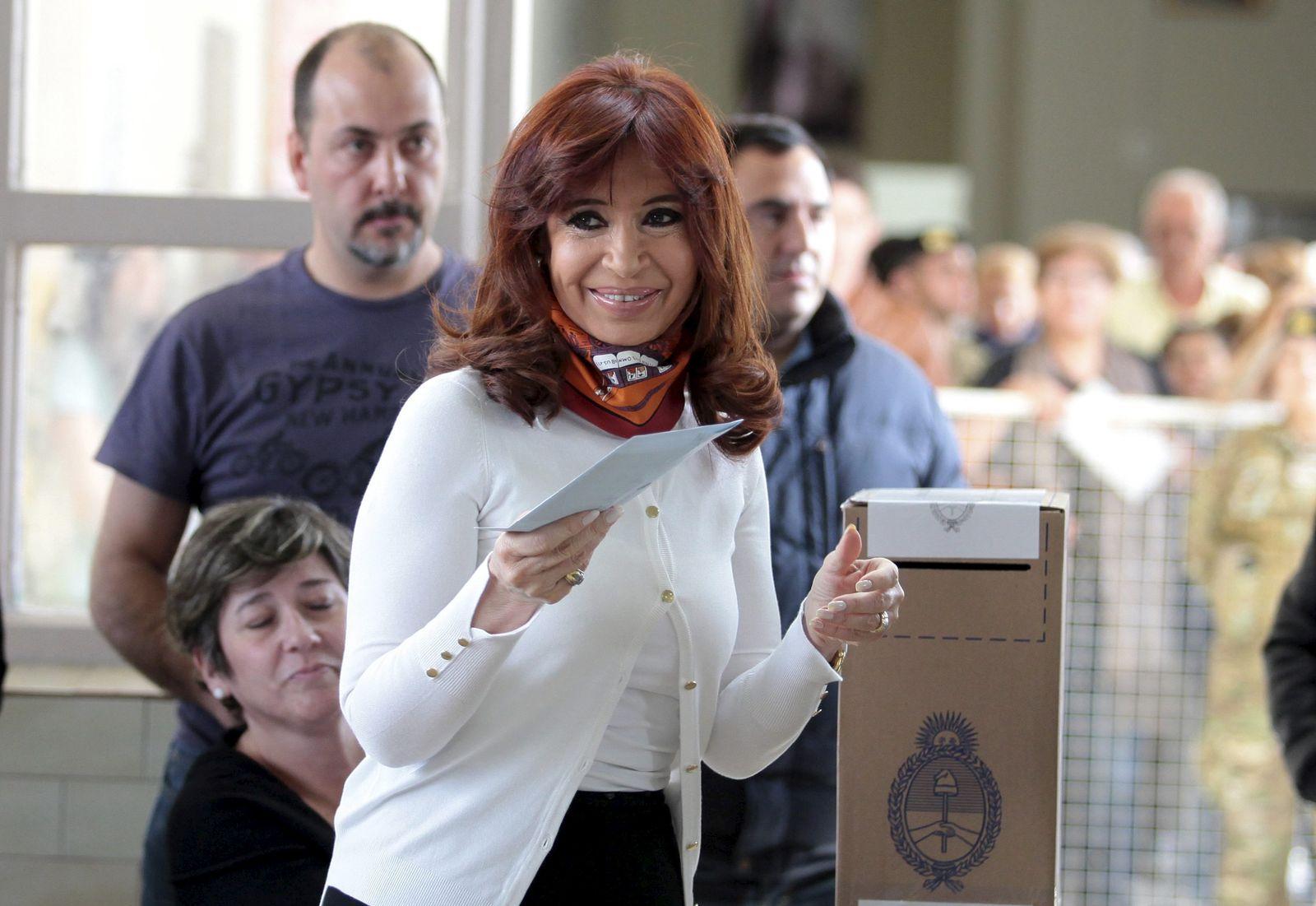 Präsidentenwahl in Argentinien kirchner