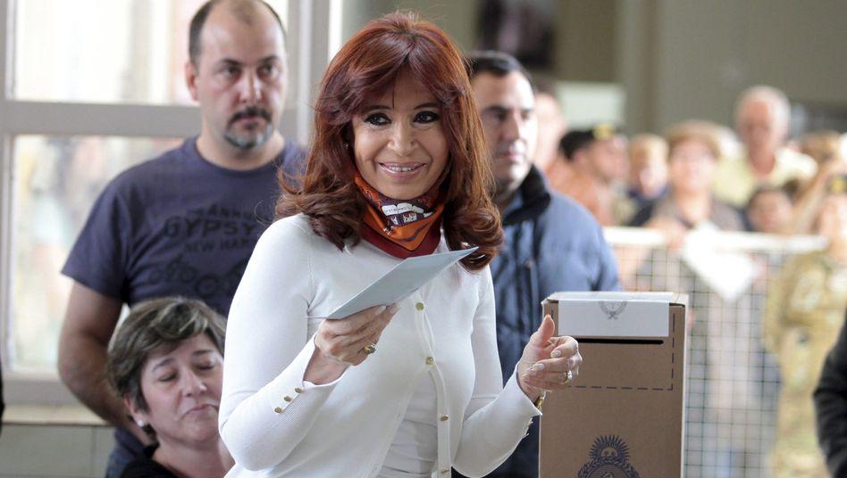 Argentiniens Präsidentin Fernández de Kirchner: Sie selbst darf nicht mehr kandidieren