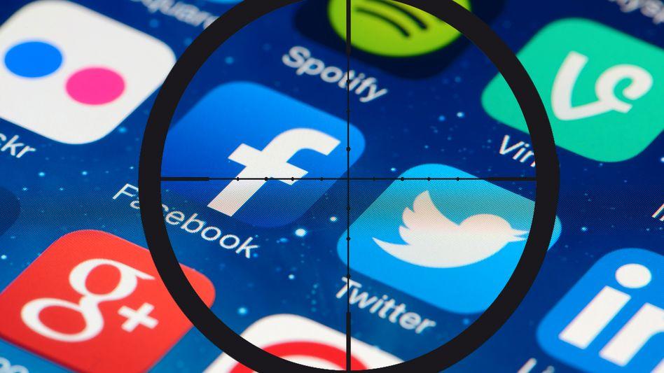 Social Media im Visier von Terroristen (Symbolbild)