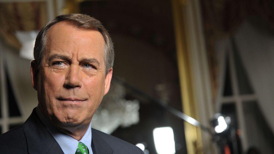 """Konservativen-Führer John Boehner: """"Fügt euch endlich"""""""