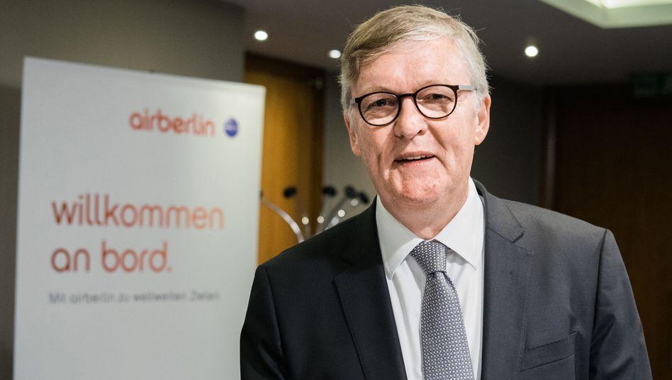 Air Berlins Vorstandschef Thomas Winkelmann