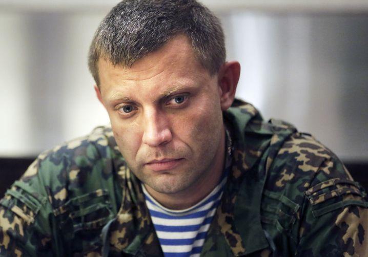 """Sachartschenko, Premier der """"Volksrepublik"""": Unabhängigkeit der Ostgebiete"""