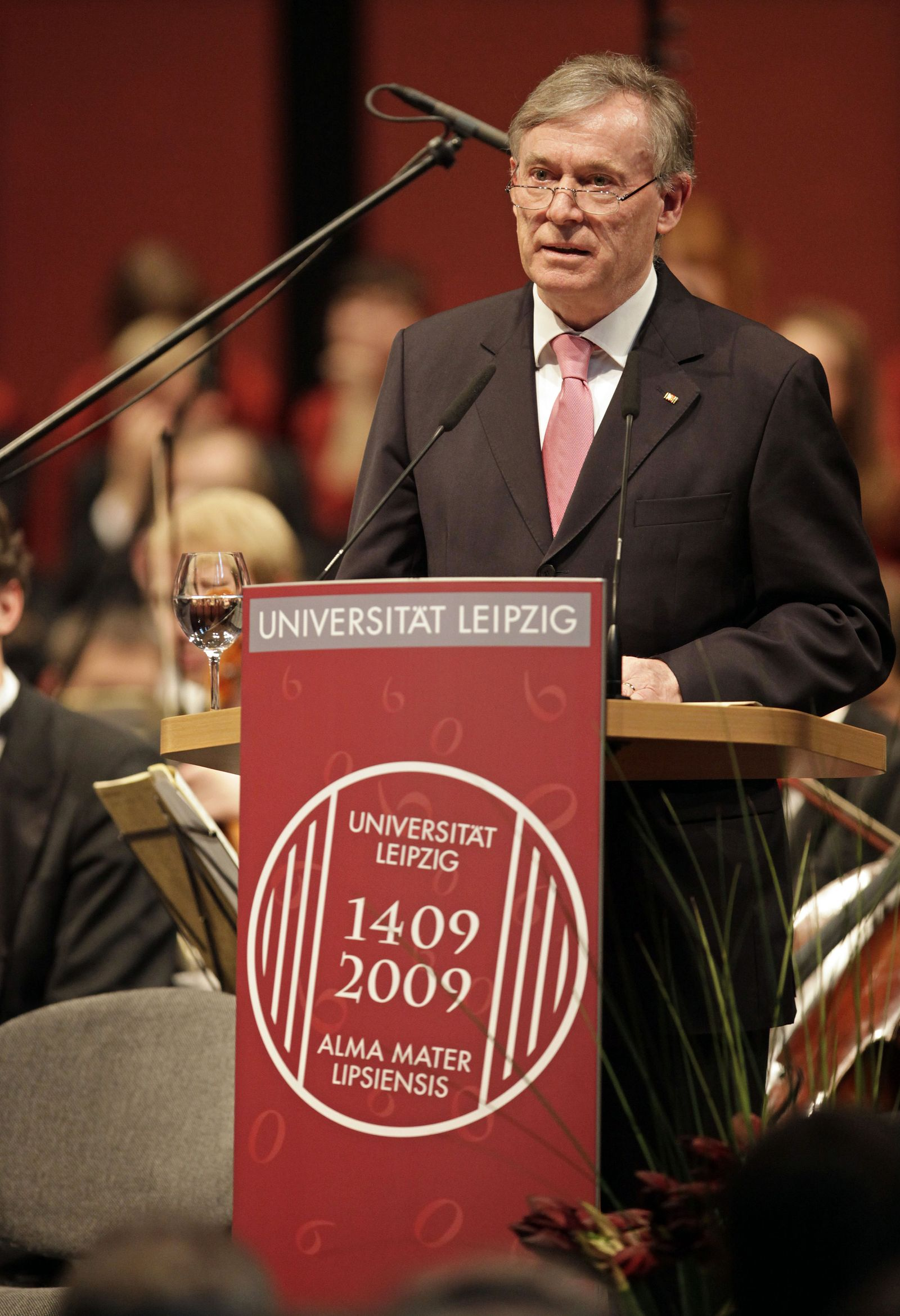 Köhler Bundespräsident Leipzig Uni