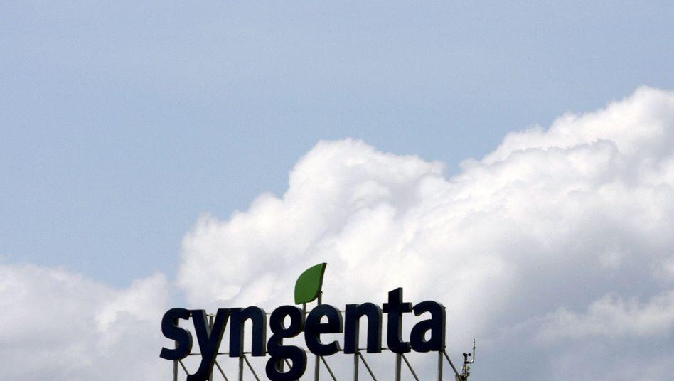 Syngenta-Logo (Archiv): Aktie stürzte um 17,8 Prozent ab